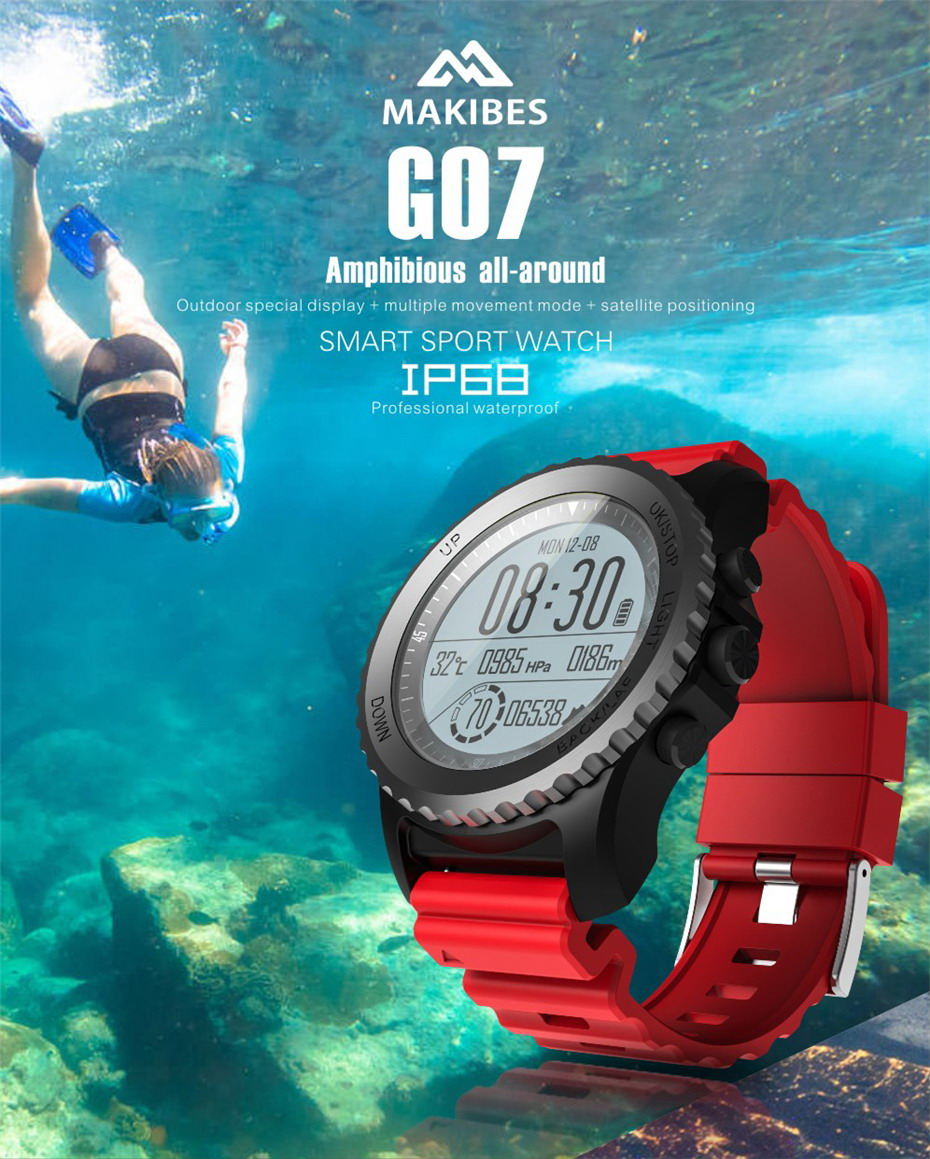 Makibes G07 GPS Smart Watch (1)