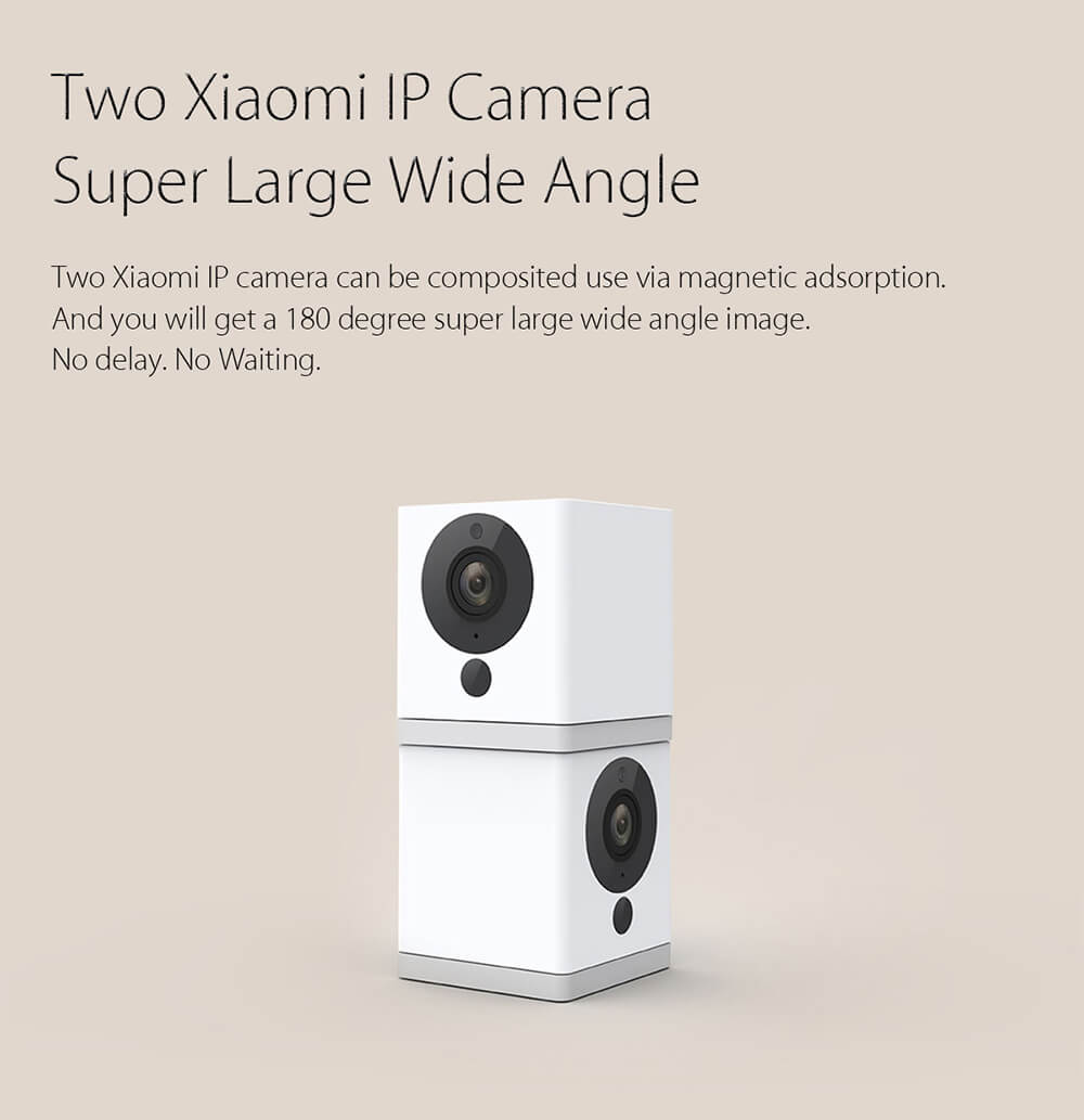 Xiaomi 1080P IP Camera Mi Smart Home WiFi Remote Control CMOS Webcam (12)