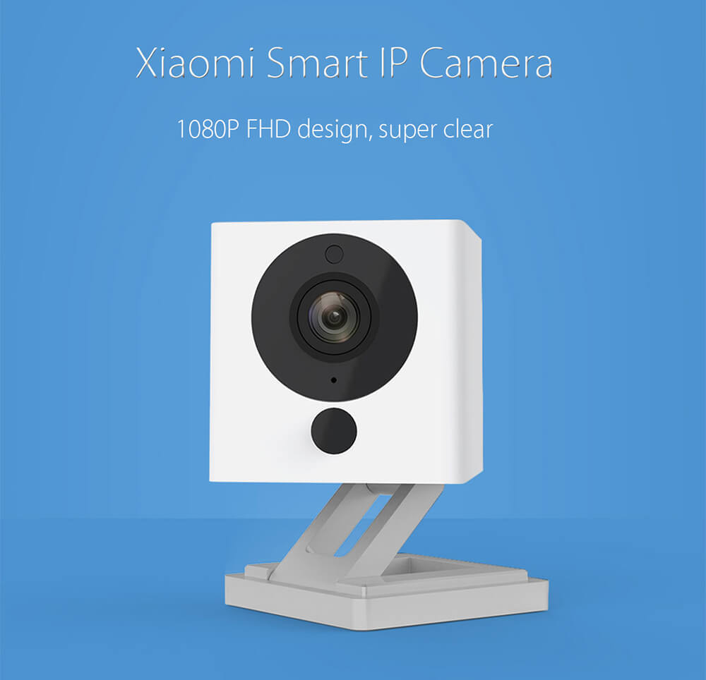 Xiaomi 1080P IP Camera Mi Smart Home WiFi Remote Control CMOS Webcam (5)