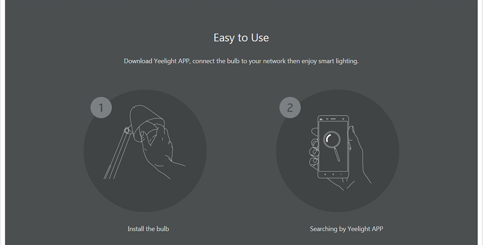 Xiaomi Mi Yeelight Smart Wifi Remote Control Bulb (10)