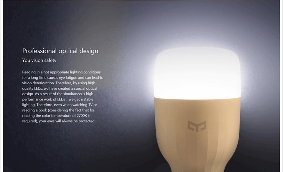 Xiaomi Mi Yeelight Smart Wifi Remote Control Bulb (6)