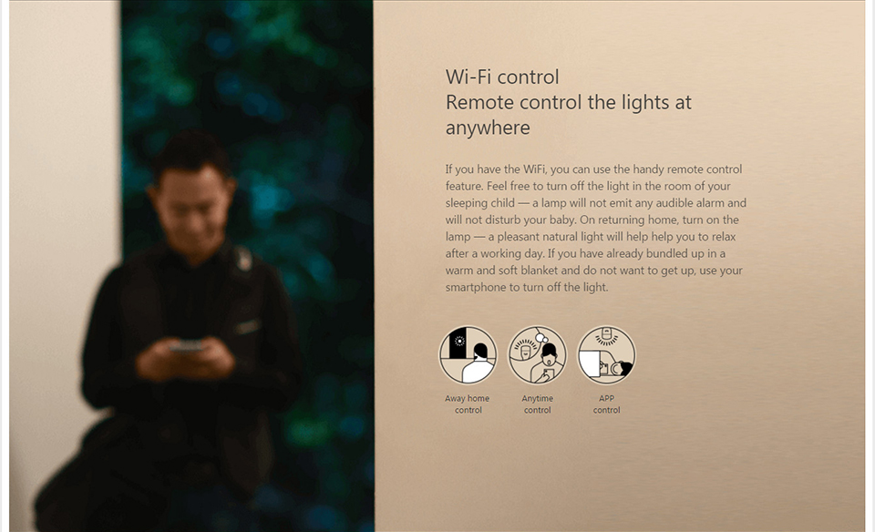 Xiaomi Mi Yeelight Smart Wifi Remote Control Bulb (8)