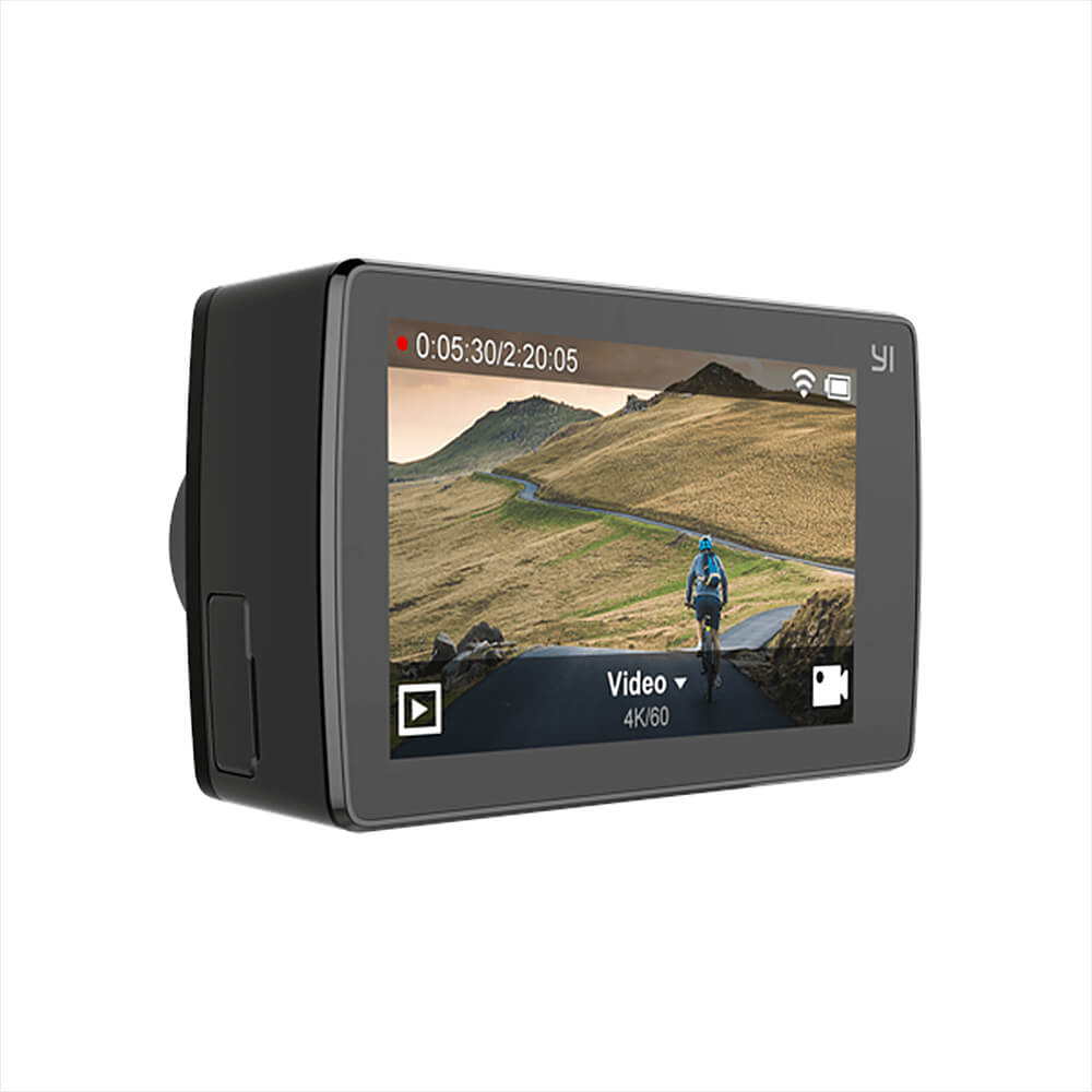 YI 4K+ ACTION CAMERA TOUCH SCREEN AMBARELLA H2 SONY IMX377 12MP 231215 1
